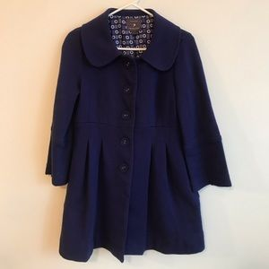 Forever 21 Women's Juniors Pea Coat Size L!